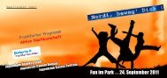 Fun im Park am 24. September 2011 - Frankfurt - Soziale Stadt ...