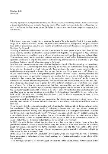 valentina bucco interview - Franco Soffiantino Contemporary Art ...
