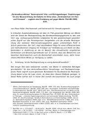 """""""Denkmalfreundliches"""" Denkmalrecht? Klar- und Richtigstellungen ..."""