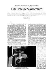 Der israelische Albtraum 64 - Die Gazette