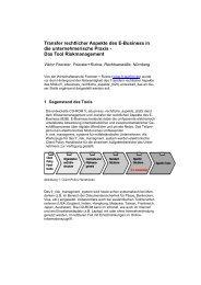 Transfer rechtlicher Aspekte des E-Business in die ...