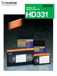 Digital HD Videocassette HD331 Catalog