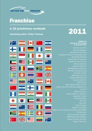 Franchising Laws - China - International Franchise Association