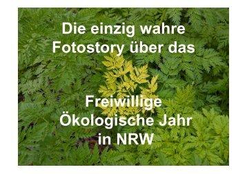 Die einzig wahre Fotostory über das Freiwillige Ökologische Jahr in ...