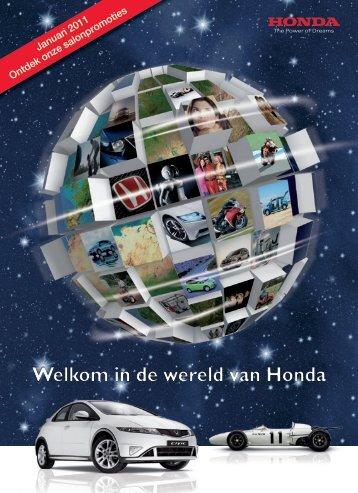 Salonpromoties - Honda