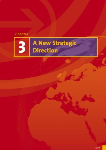 Chapter 3: A New Strategic Direction - Forfás