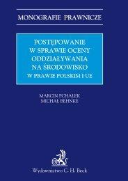 monografie prawnicze postępowanie w sprawie oceny ... - Gandalf