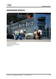 AERODROME MANUAL - Bern-Belp