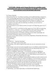 besluit van de Vlaamse regering (103 Kb | pdf) - Flanders ...