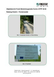 Radweg Küstrin-Fürstenwalde - Frank GmbH