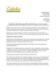 Cabela Hiring Announcement.pdf - Flocknote