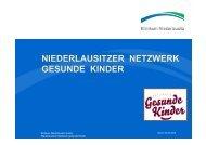 Niederlausitzer Netzwerk Gesunde Kinder - Nationales Zentrum ...