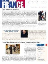 Vol. 11.03 - April 30, 2011 - Embassy of France