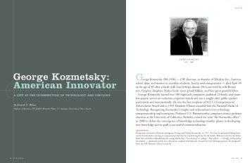 George Kozmetsky: American Innovator - University of Washington ...