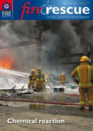 Chemical reaction - New Zealand Fire Service