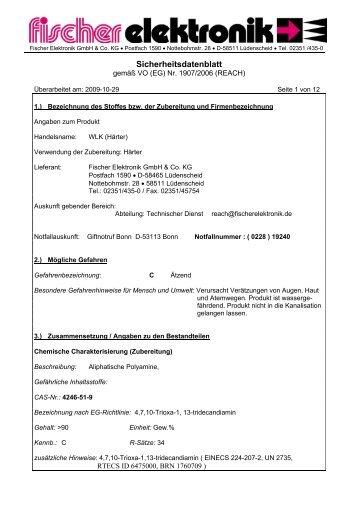 Sicherheitsdatenblatt - freakware GmbH