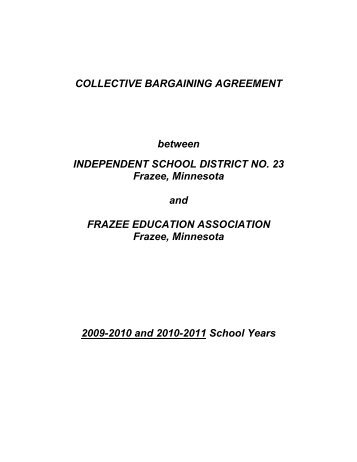 Collective bargaining agreement coal city high school collective bargaining agreement frazee vergas public schools platinumwayz