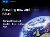 Recycling now and in the future