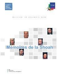 Dossier de presse - Fondation pour la Mémoire de la Shoah