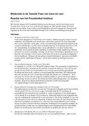 lees de reactie - Freudenthal Instituut - Universiteit Utrecht