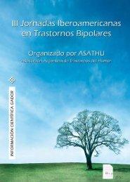 III Jornadas Iberoamericanas en trastornos bipolares. - Gador SA