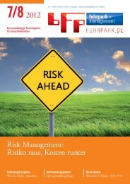7/82012 Risk Management: Risiko raus, Kosten runter - fuhrpark.de ...