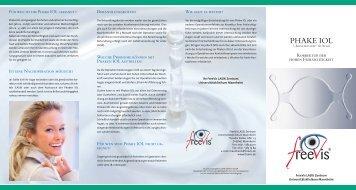 Patienteninformation - FreeVis