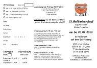 Flyer 2013 - Gaffenberg Lauf