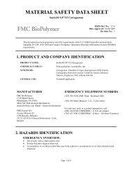 SeaGel® GP 713 Carrageenan - FMC Corporation