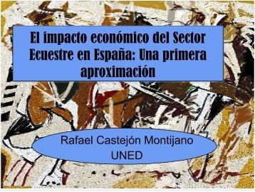 El impacto económico del Sector Ecuestre en España: Una primera ...