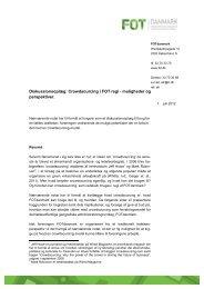 Diskussionsoplæg: Crowdsourcing i FOT regi ... - FOTdanmark