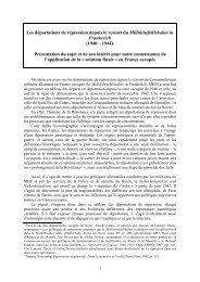 Présentation - Fondation pour la Mémoire de la Shoah