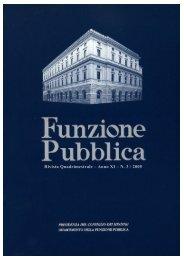 Rivista n. 3 in formato per la stampa - Dipartimento Funzione Pubblica