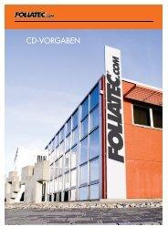 CD-VORGABEN - Foliatec