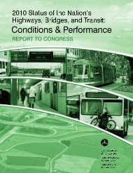Table of Contents - Federal Transit Administration - U.S. Department ...