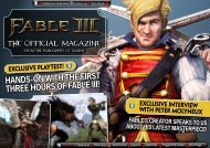 Exclusive Fable III Magazine - GamerZines