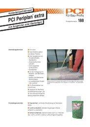 PCI Periplan PCI Periplan extra - Fliesen Lerche