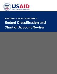 Budget Classification and Chart of Account Review - Eng - Frp2.org
