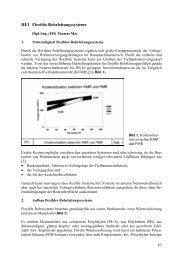 III/1 Flexible Rohrleitungssysteme - FITR