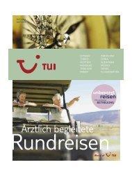 ärztlich begleiteten Rundreisen - First Reisebüro
