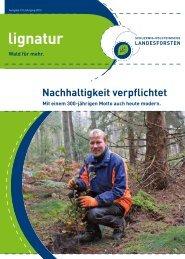 Ausgabe 13/Jahrgang 2013 - Schleswig-Holsteinische Landesforsten