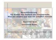 Sprachenvielfalt - Forum Bildung