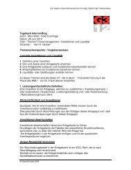 Tagebuch Internet-Blog Autor: Marc Wildi / Hotel ... - GastroSuisse