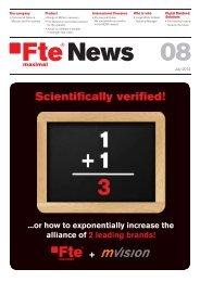Fte News 08_EN.indd - FTE Maximal