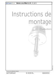 Notice d'utilisation - Framo Morat