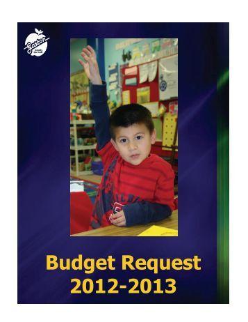 2012-13 Budget Book - Gaston County Schools