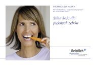 ulotka kliencka geistlich.indd - FM Dental Produkty Dla Stomatologii