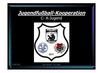 Jugendfußball-Kooperation - TSV Meitingen - Abteilung Fussball