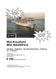 MSC Kreuzfahrten - First Reisebüro