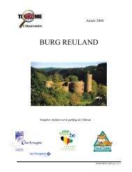 BURG REULAND - Fédération du Tourisme de la Province de Liège